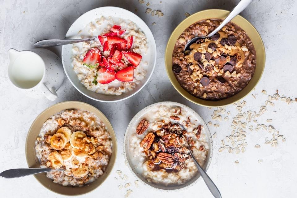 Healthy diet  燕麥早餐  健康食譜