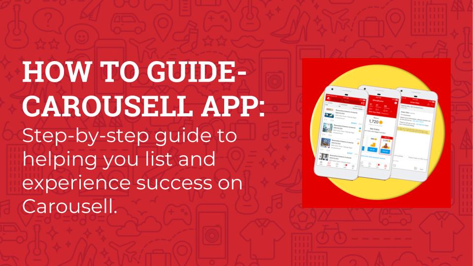 Getting Started On Carousell