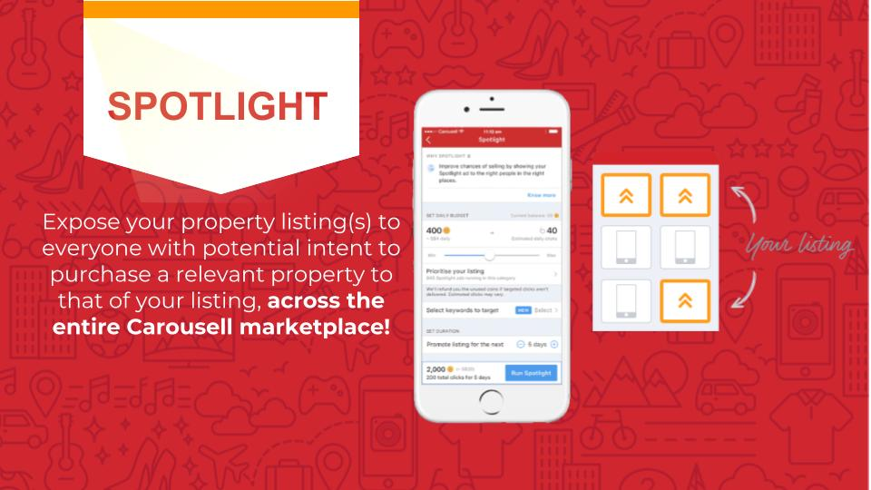 Spotlight: Reach Thousands Of Potential Property Seekers Across Carousell!
