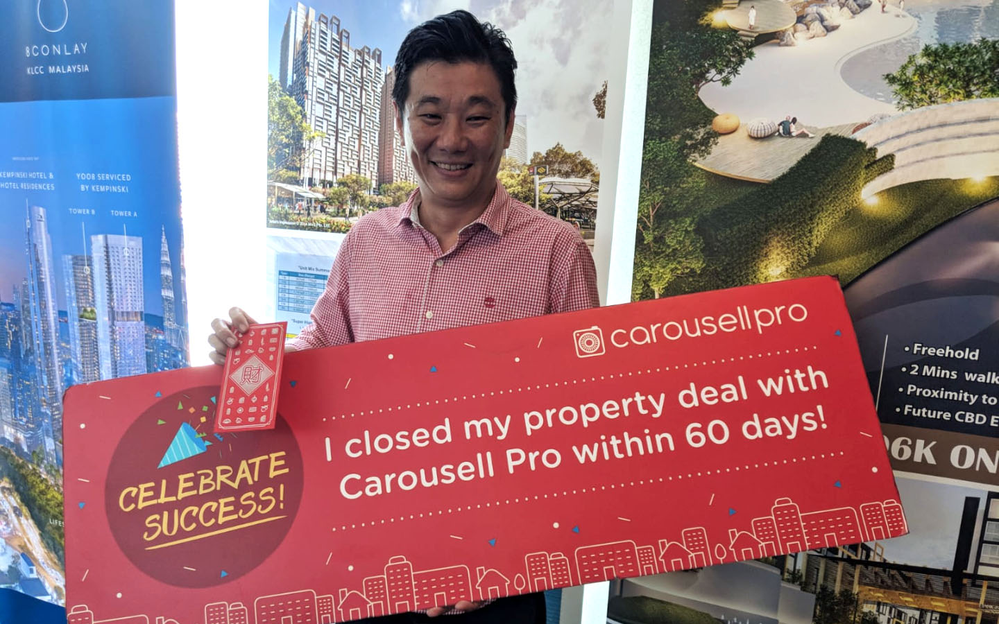 carousell for property agents mackie chee
