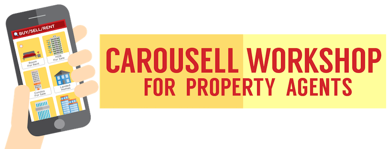 Carousell workshop for property agents - guide to list property for sale and for rent on Carousell