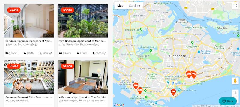 easycity co-living rent in singapore