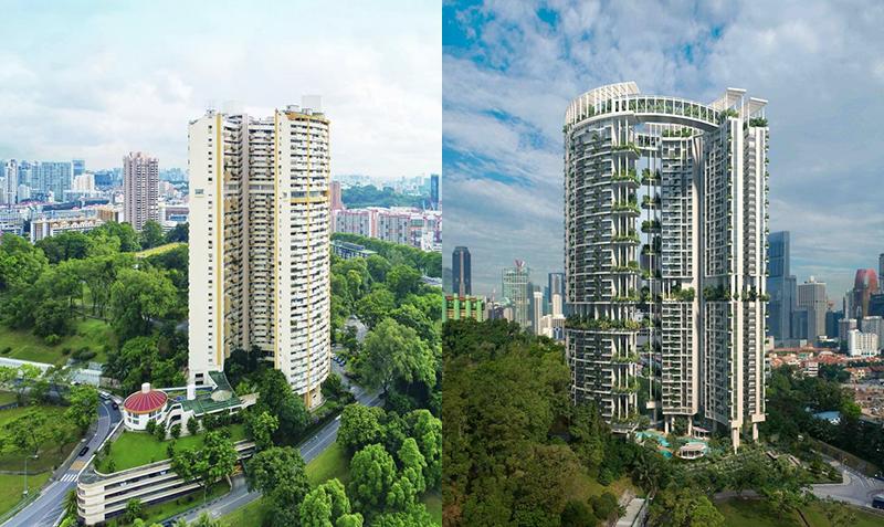 Pearl Bank Apartments vs One Pearl Bank