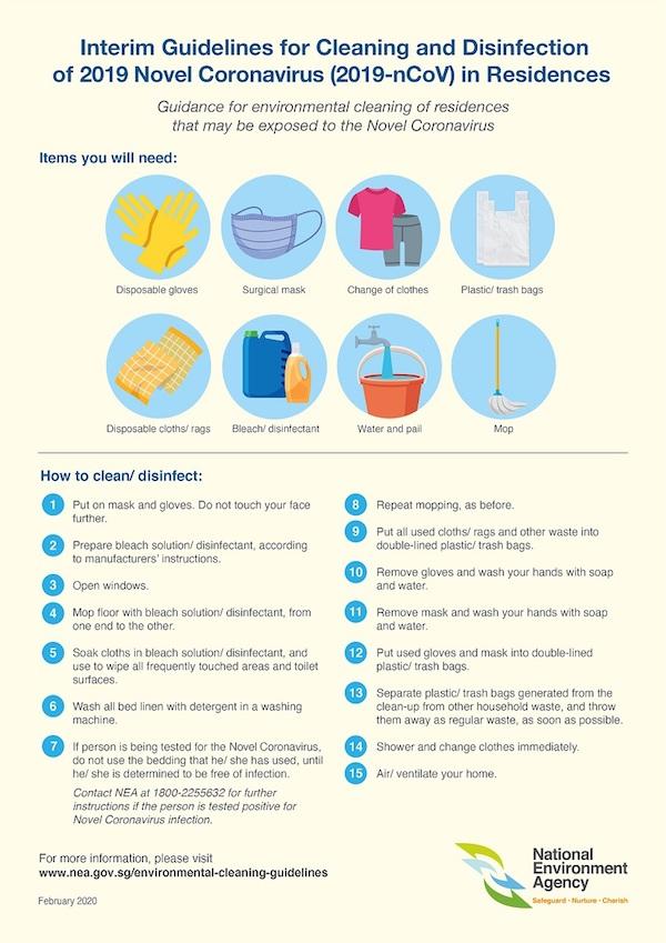 coronavirus cleaning guide