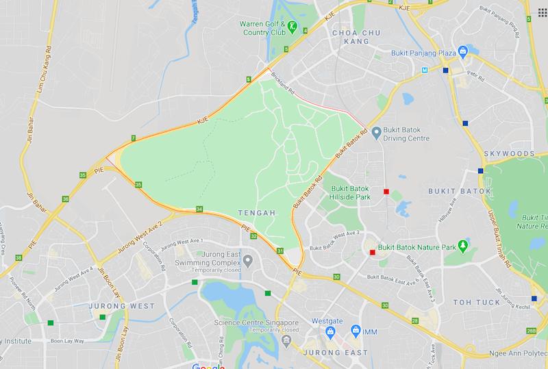 tengah map singapore hdb bto cheap
