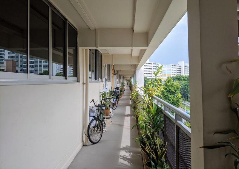 hdb purchase recess area singapore